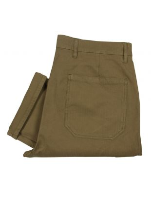 Norse Projects Laurits Herringbone Cargo Olive 8630