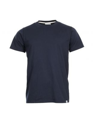 Norse Projects Niels T Shirt Plain N01-0362-7000 Navy