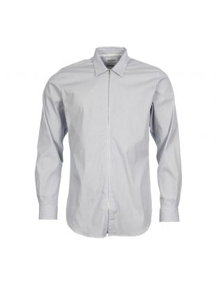 Norse Projects Shirt Osvald N4003850224 In Blue Stripe