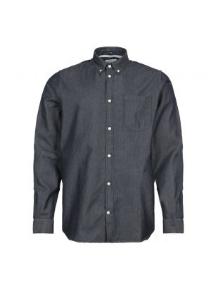 Norse Projects Anton Denim Shirt N40 0459 7506 Rinsed