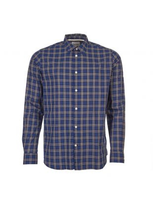 norse projects shirt hans summer N40 0487 7004 blue