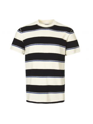 Norse Projects T-Shirt N01 0433 7004 Ecru/Navy