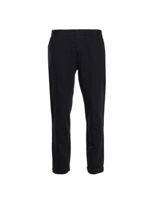 Norse Projects Trousers Luther Linen in Dark Navy N25 0280 7004