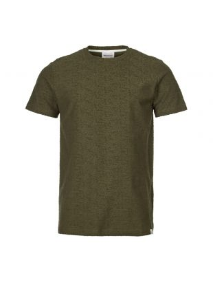 Norse Projects Niels T-Shirt N01 0428 8098 In Green