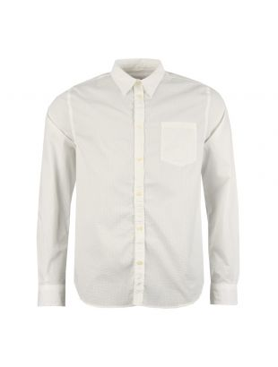 Norse Projects Shirt Oswald Seersucker N40 0440 Off White