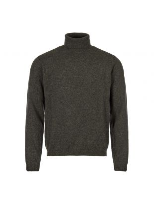 Norse Projects Sigfred Roll Neck Sweater   N40 0410 8107 Spinnaker Green