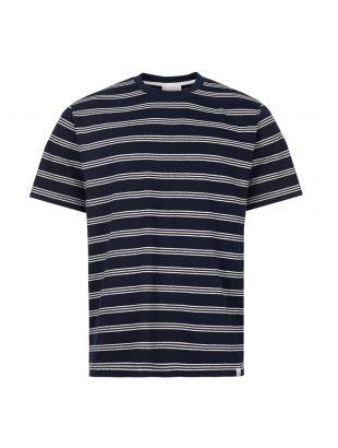 Norse Projects T-Shirt Johannes | N01 0457 7004 Dark Navy Stripe
