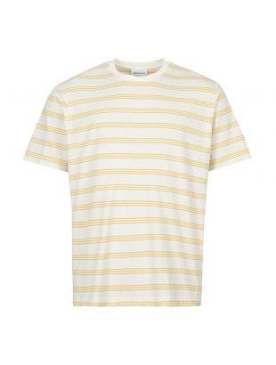 Norse Projects T-Shirt Johannes | N01 0457 3037 Sunrise Yellow Stripe
