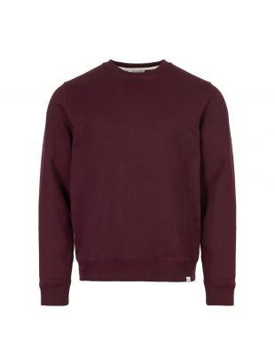 norse projects sweatshirt N20 0261 6014 purple