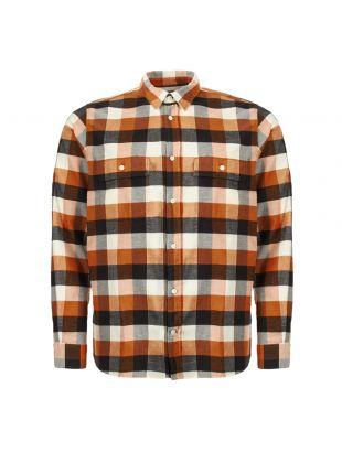 norse projects villads shirt N40 0474 4035 signal orange