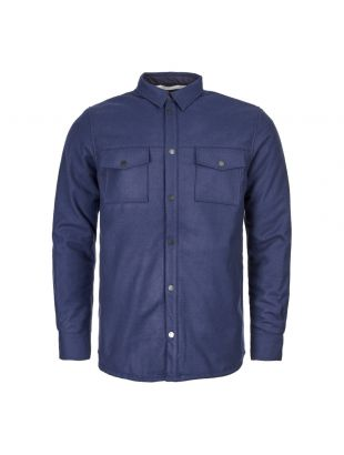 Norse Projects Villads Shirt | N40 0353 7000 Navy