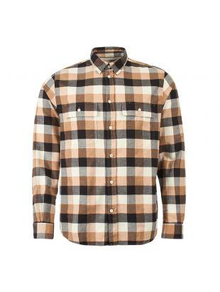 norse projects check villads shirt N40 0474 0966 utility khaki