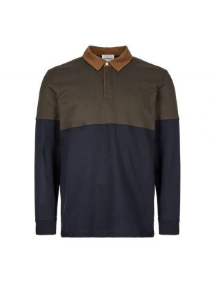 Norse Projects Rugby Shirt N10 0162 8109 Beech Green