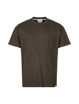 Norse Projects T-Shirt Johannes Pocket N01 0399 8109 Beech Green