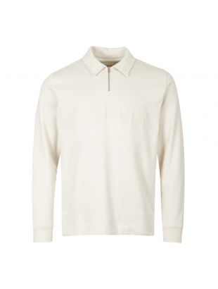 norse projects half-zip sweatshirt jorn N10 0164 0957 ecru