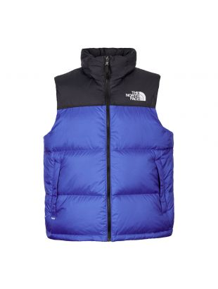 Nuptse Vest – Royal Blue