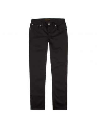 Nudie Jeans Grim Tim in Dry Cold Black 112302