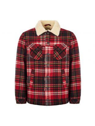 Nudie Jeans Jacket | 160652 Plaid Red Alert