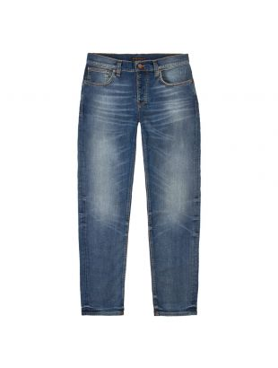 Nudie Jeans Grim Tim | 113014 Worn In Broken Blue