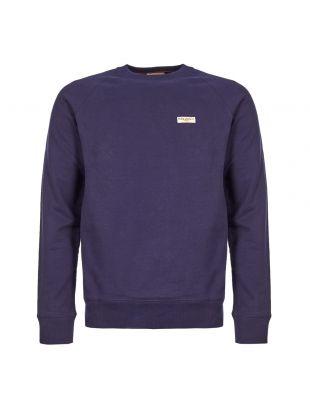Nudie Jeans Samuel Logo Sweatshirt | 150380 MIGNIGHT Midnight
