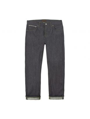 nudie jeans sleepy sixten 112977 dry green selvage