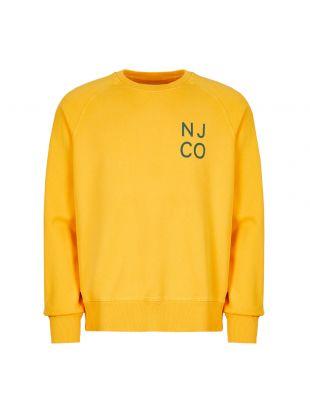 Nudie Jeans Sweatshirt Melvin | 150391 Y16 003 Dandelion
