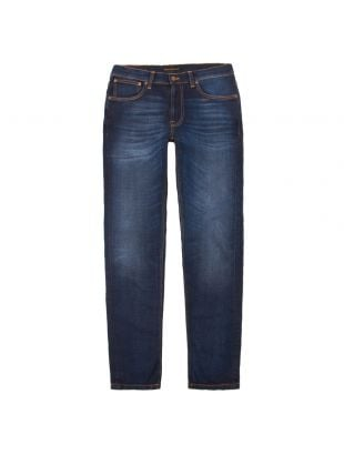 nudie jeans lean dean 113032 deep dark worn