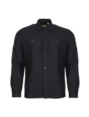 Oliver Spencer Eltham Shirt OSMS147 WIN01NAVIn Navy