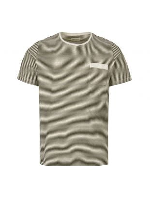 Oliver Spencer Envelope Pocket T-Shirt OSMK461A|DAN01|FOR In Forest Green