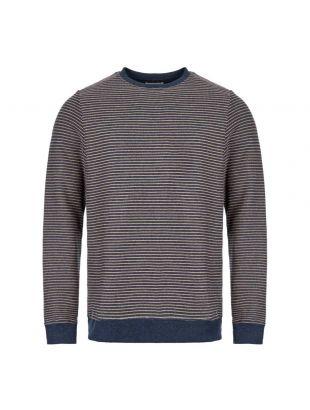 Robin Sweatshirt - Navy Stripe