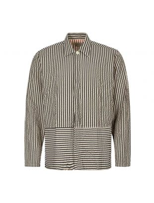 Oliver Spencer Shirt | OSMS158 IVE01 BLK Black Stripe