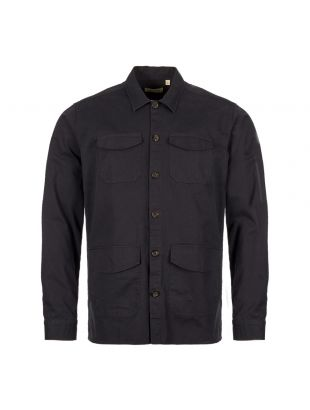 Oliver Spencer Overshirt OSMS151A EDE01NAV In Navy
