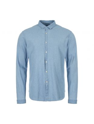 Oliver Spencer Shirt Clerkenwell Tab OSMS66A KIL01INL In Indigo