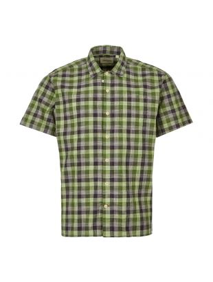 Oliver Spencer Short Sleeve Shirt | OSMS102 OTT01 GRN Green