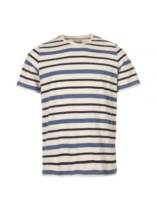 Oliver Spencer T-Shirt OSMK580 CAR01BLU Blue
