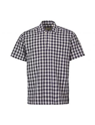 Oliver Spencer Short Sleeve Shirt | OSMS152 HAT01 NAV Navy