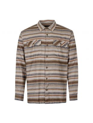 Patagonia Fjord Flannel Shirt 53947|FDBB In Bristle Brown At Aphrodite Clothing