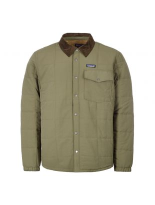 Isthmus Shirt Jacket – Industrial Green
