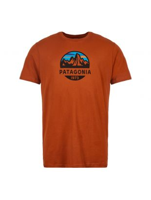 patagonia t-shirt fitz roy scope 39144 CPOR copper