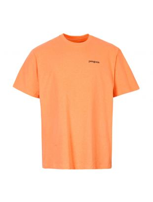Patagonia Fitz Roy Logo T-Shirt 38440|PCHS In Peach
