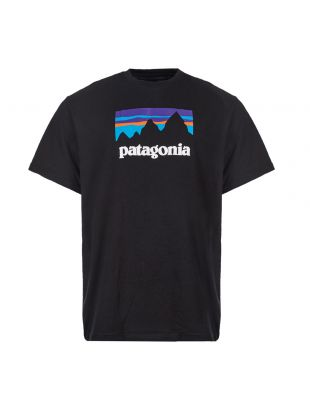 patagonia t-shirt shop sticket 39175 BLK black