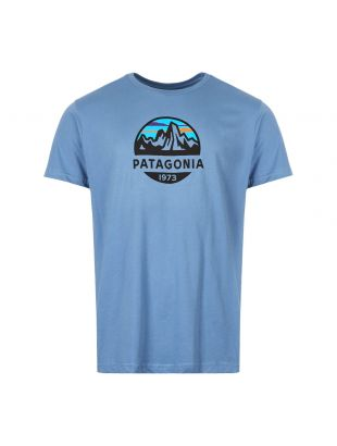 Patagonia Fitz Roy Scope T-Shirt 39144|WOBL In Blue At aphrodite1994
