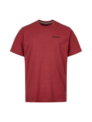 Patagonia T-Shirt Fitz Roy Horizons 38440 OXDR Oxide Red