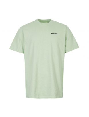 Patagonia Fitz Roy Logo T-Shirt 39174|LDSG In Light Green