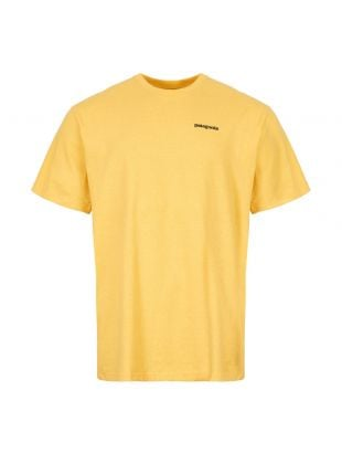 Patagonia P6 Logo Responsibili T-Shirt 39174|SUYE In Summer Yellow