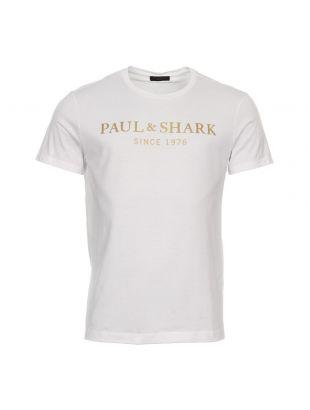 Paul & Shark T-Shirt | E18P1143SF 010 White
