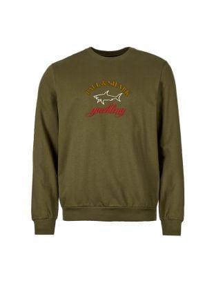 Paul & Shark Sweatshirt   COP1021 132 Olive