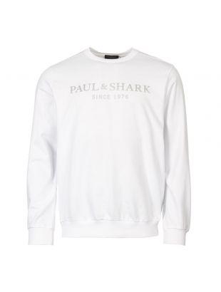 Paul & Shark Sweatshirt | P19P1820 010 White