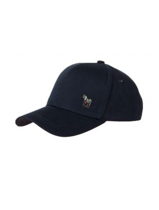 Paul Smith Zebra Logo Cap M2A 987C AZEBRA 47 Navy