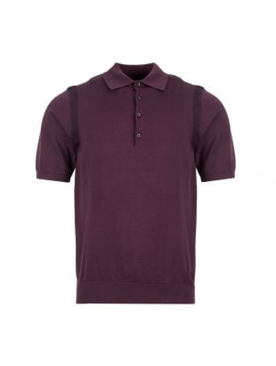 paul smith polo shirt M2R 420T A20643 54 aubergine
